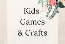 Kid's games and crafts