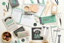 Father's Day / Father's Day ideas and special things for Dad throughout the year!