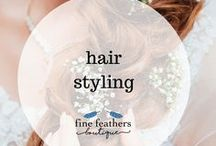 hair styling / Hair styling tips and how tos.  Easy hair-dos, quick everyday hairstyles, hottest hair trends, hair cuts, hair accessories.