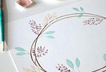 Aquarelle / Watercolor