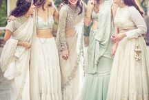 lehenga & half sarees / all my dream clothes