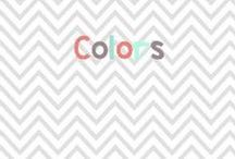 Colors / Ideas and activities to teach little ones all about colors! / by Glimmers of Learning