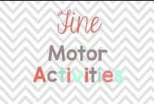 Fine Motor Activities / Fine motor is so important and here are some fun and easy activities to do with your kiddos! / by Glimmers of Learning