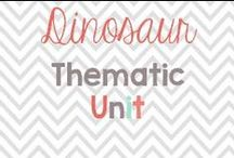 Dinosuar Thematic unit / Always a favorite in my classroom! Here are some fun ideas! / by Glimmers of Learning