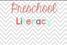 Preschool Literacy / Here are some awesome tips and activities to support preschool, kindergarten and special education students in the area of literacy!  / by Glimmers of Learning