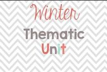 Preschool Winter Thematic unit / Winter activities and must dos! / by Glimmers of Learning