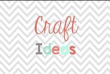 Craft Ideas / Fun crafts to try with or without kids!  / by Glimmers of Learning