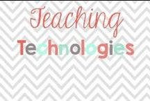 Teaching Technology / Technology is every changing so here are some up to date ideas to try at home or in your classroom!  / by Glimmers of Learning