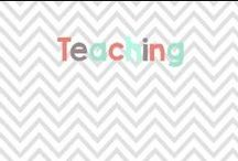 Teaching / Great ideas for teaching all sorts of grade levels! / by Glimmers of Learning