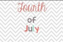 fourth of july / by Glimmers of Learning