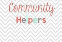Community Helpers / Ideas, lessons, crafts and more all to do with Community Helpers / by Glimmers of Learning