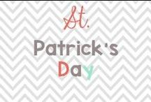 St. Patties Day / St. Pattys day ideas!  / by Glimmers of Learning