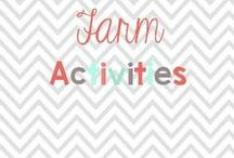 Farm activities / Activities to go with your farm units / by Glimmers of Learning