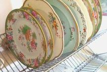 Antique/Vintage Dishes/Silver / by Janet Griffin