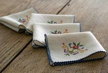 Tea Party: Linens/Lace for Tea/Home / by Janet Griffin