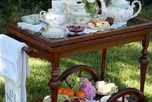 Tea Party: Carts / by Janet Griffin