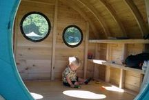 Children: Playhouses/Tents/ Forts / by Janet Griffin