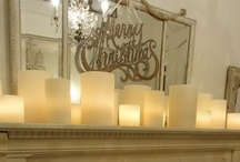 Winter Wonderland. / Christmas decorating ideas.