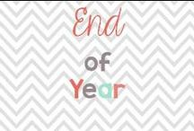 End of Year / Activities, presents and ideas for the end of the school year / by Glimmers of Learning