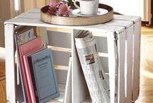 Deco: Palets / Ideas de decoración con paleta que podrás hacer tú mismo