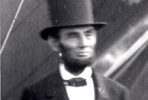 Abe Lincoln  / by Carol Frey