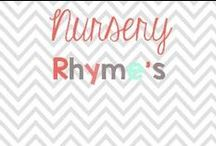 Nursery Rhymes / Activities and materials to go with your nursery rhyme thematic units / by Glimmers of Learning