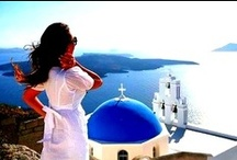 Cyclades Islands / The endless blue and white...