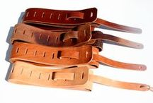 #Guitar Straps / Beautiful Classic straps for your favourite instrument, crafted from the finest veg tan leathers, each with their own character.  The more you wear it, the better it will look!