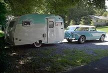 RVs and Campers-Old and New / by Gayle Trainor (Quinn)