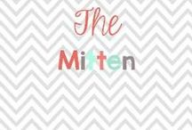 The Mitten / Do you love the story the mitten! If so check out all these cute ideas to go with the story!  / by Glimmers of Learning