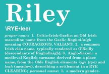 Riley Benjamin / by Erin Johnson