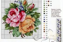 Cross Stitch - Florals / by Leslie Young