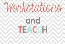 Work stations / Ideas for work stations. Which may go by the name of TEACCH or work stations! Such an amazing thing to do with your little ones and those with special needs! Teachers amazing independence!  / by Glimmers of Learning