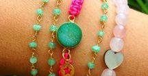 Jewelry / Ideas e inspiración de joyas: pulseras, collares, pendientes.