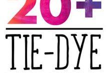 Diy: Tye Dye / Ideas e inspiración para hacer tú mismo con la técnica del tye-dye.