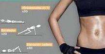 En forma / Tablas de ejercicios para mantenerse en forma