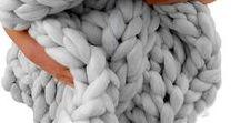 Diy: Manta Lana Gruesa / Manuales de cómo hacer diferentes tipos de mantas con lana gruesa
