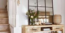 Deco: recibidor / Ideas para decorar el recibidor, la entrada de tu casa.