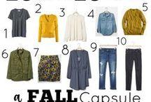 Capsule wardrobe autumn-winter / Descubre como con pocas piezas de ropa puedes crearte un montón de looks distintos.