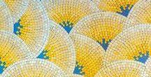 Deco: suelos azulejos / Ideas de decoración para suelos y paredes. Azulejos y diseños hidráulicos.