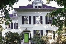 Exterior / Architecture is what orginally made me fall in love with design. A board filled with pretty exterior architecture and gardens.
