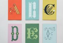 Typography + Lettering / Eye-catching lettering for design buffs and type enthusiasts alike.