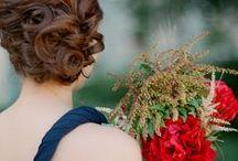 Wedding Ideas / Beautiful brides, stunning wedding details, and pretty florals
