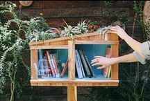 Library Love / We love books. And libraries. And bookshelves. Don't you?