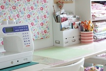 Craft Room / Decorating ideas for craft rooms and multi-purpose rooms