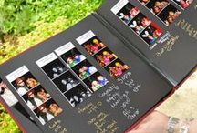 Guestbooks / Great idea for a wedding guestbook or an event guestbook