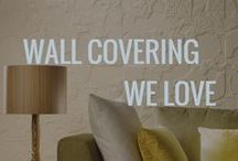 Wall Covering We Love / Follow Esteban Interiors on Facebook and Instagram too.