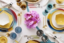 TABLE SETTINGS / by MEGAN HERAK BARON