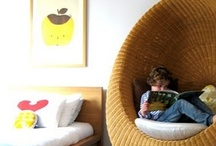 Reading Nooks for Kids / Cozy spots for kids to curl up with a book.