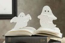 Halloween for Book Lovers / Spooky books, creepy crafts, tricks and treats!